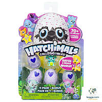 Hatchimals CollEGGtibles: Набор из четырех коллекционных фигурок в яйцах + бонус (в ассортименте) SM19104
