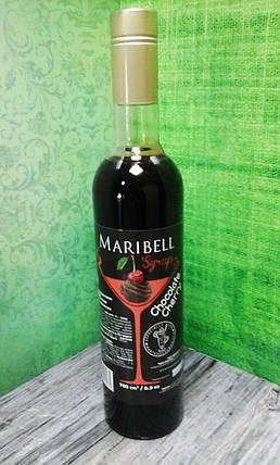 Сироп барный тм «Maribell» Шоколадная вишня, фото 2