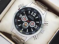 Мужские механические наручные часы Слава Созвездие с дополнительными циферблатами