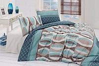 Полуторный комплект постельного белья First Choice Arrigo Turquaz