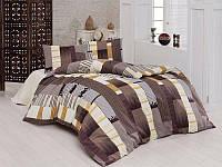 Полуторный комплект постельного белья First Choice Reymond Kahve