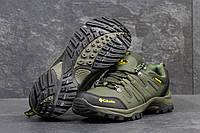 Мужские ботинки Columbia Кожа. Темно зеленые