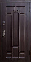 Бронированные двери входные Арка Темный орех