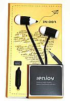 Наушники с микрофоном JenJoy in-083