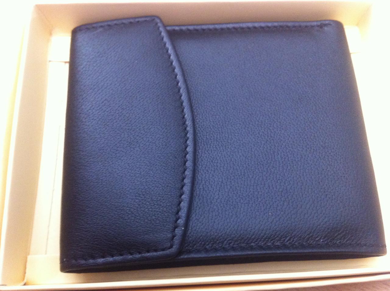 219f50b62753 РАСПРОДАЖА Молодежный тонкий мужской кошелек натуральная кожа портмоне  черное хорошего качества по низкой цене - Інтерент