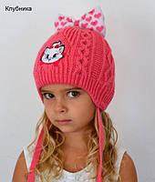 Милая зимняя шапочка для малышки , фото 1