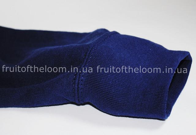 Тёмно-синий мужской классический реглан