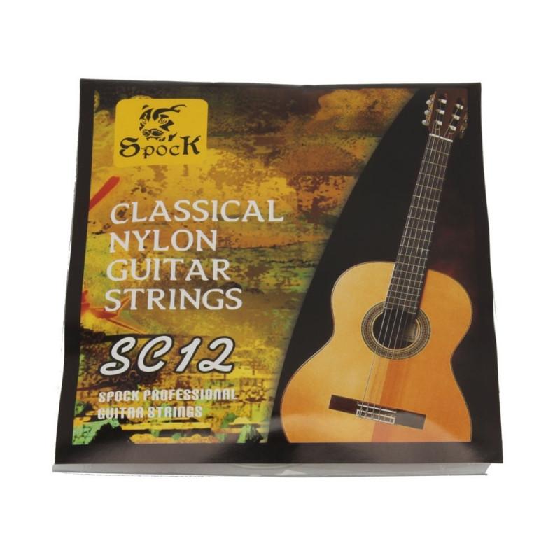 Набор нейлоновых струн для классической гитары Spoсk