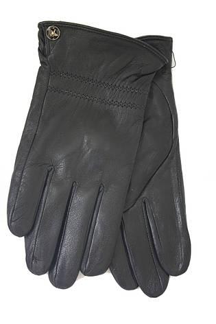 Мужские зимние кожаные перчатки M 2018, фото 2