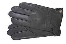 Мужские зимние кожаные перчатки M 2018, фото 3