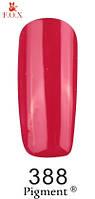 Гель лак FOX №388 (вишнево-красный) 6 мл