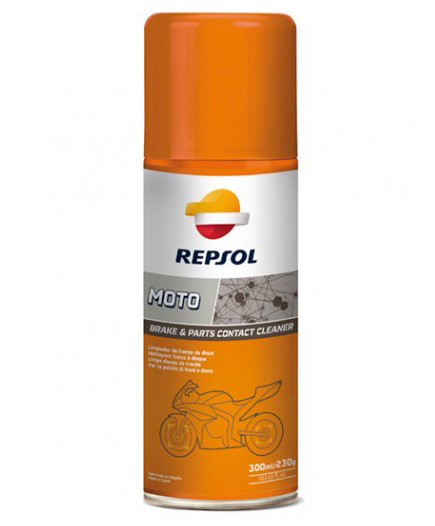 Спрей-очиститель Repsol Moto Brake & Parts Contact Cleaner (400 мл)