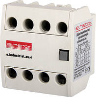 Дополнительный контакт для контактора E.NEXT e.industrial.au.4.13 - 1no+3nc