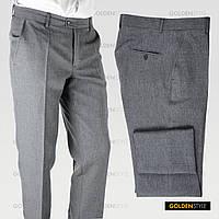 """Классические мужские брюки со стрелками """"Grey Standard"""" (р.44-58)"""