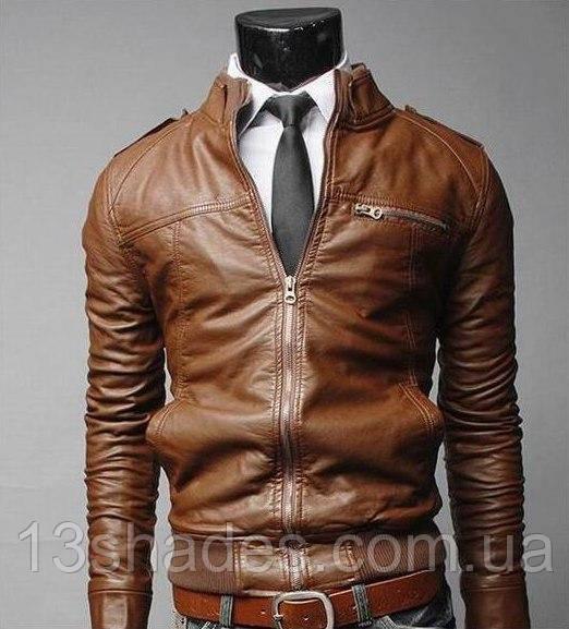 d31e694b05d2 Куртка мужская кож  зам , Киев коричневый осень весна  продажа, цена ...