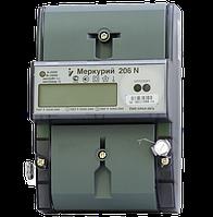 Счетчик Меркурий 206 5-60А однофазный многотарифный