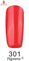 Гель лак FOX №301 (яркий кораллово-красный) 6 мл