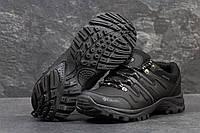 Мужские ботинки Columbia Кожа. Черные