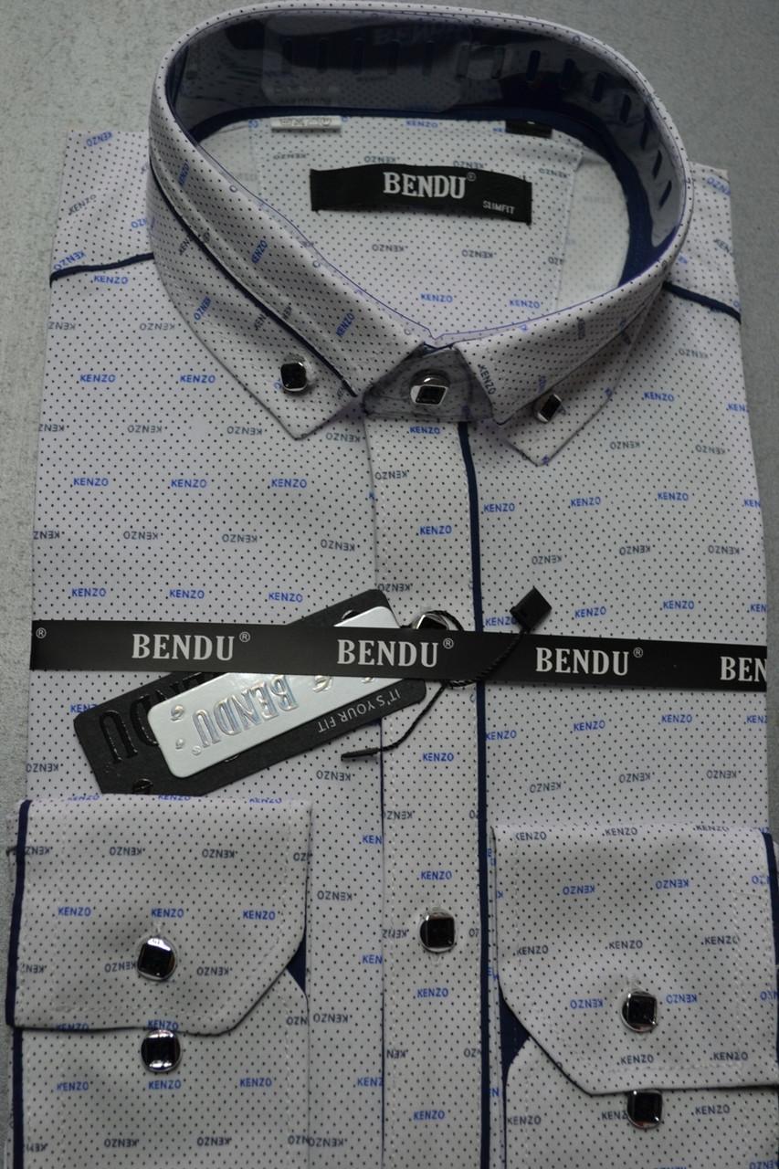 Приталенная рубашка BENDU