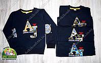 Кофта Armani Jeans для мальчика черного цвета