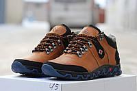 Мужские зимние ботинки Columbia рыжие 3223