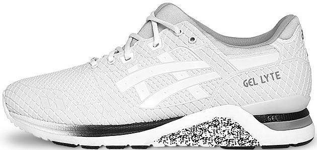 "Мужские кроссовки Asics Gel Lyte Evo ""Samurai Pack"" White HN543-0101, Асикс Гель лайт ево"