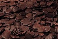 Шоколадные монеты черные для зеркальной глазури.