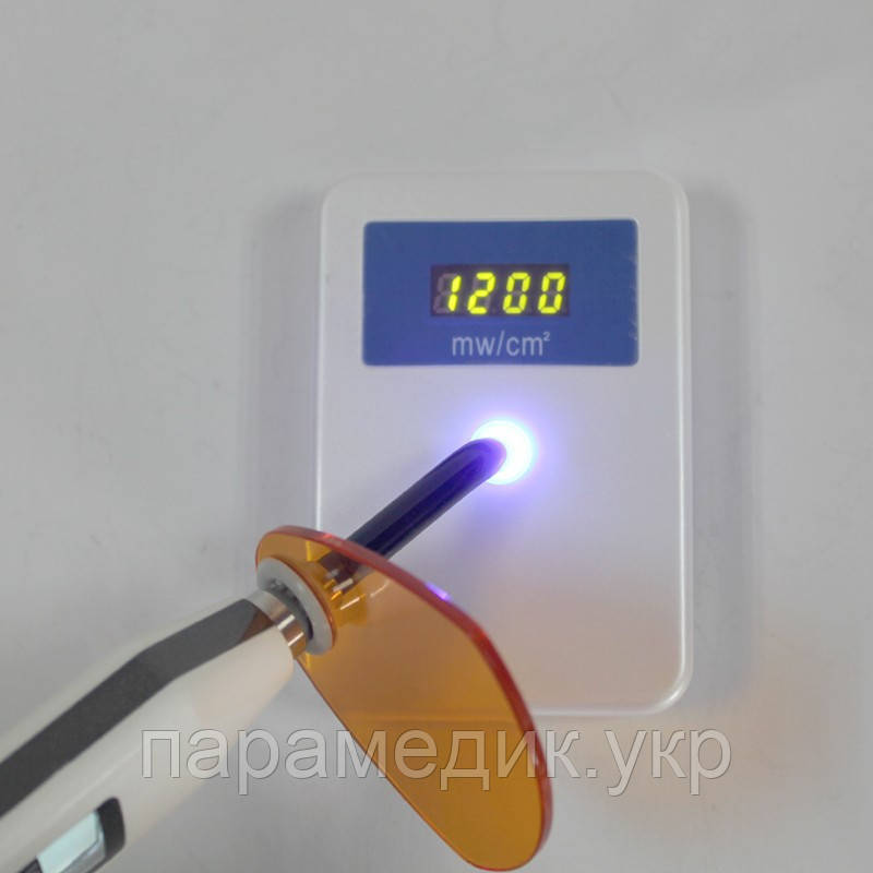 Тестер мощности светового потока фотополимерной лампы от 0 до 3500 МВт/cm2.