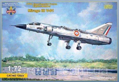 Mirage III V-01 1/72 ModelSVIT 72023