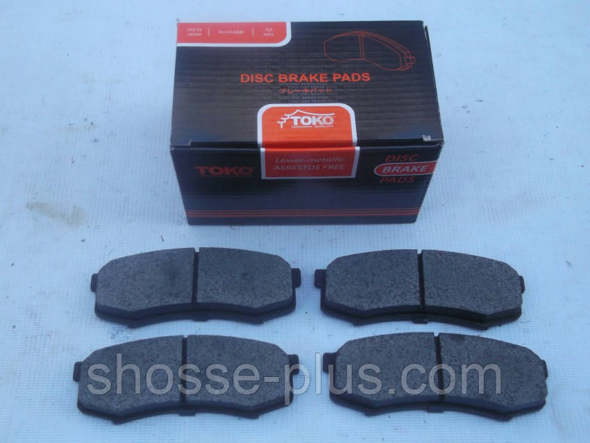 Колодки тормозные задние Toyota Land Cruiser Prado 120 150 Lexus GX 460 470