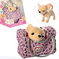 Кикки собачка в сумке М 3482