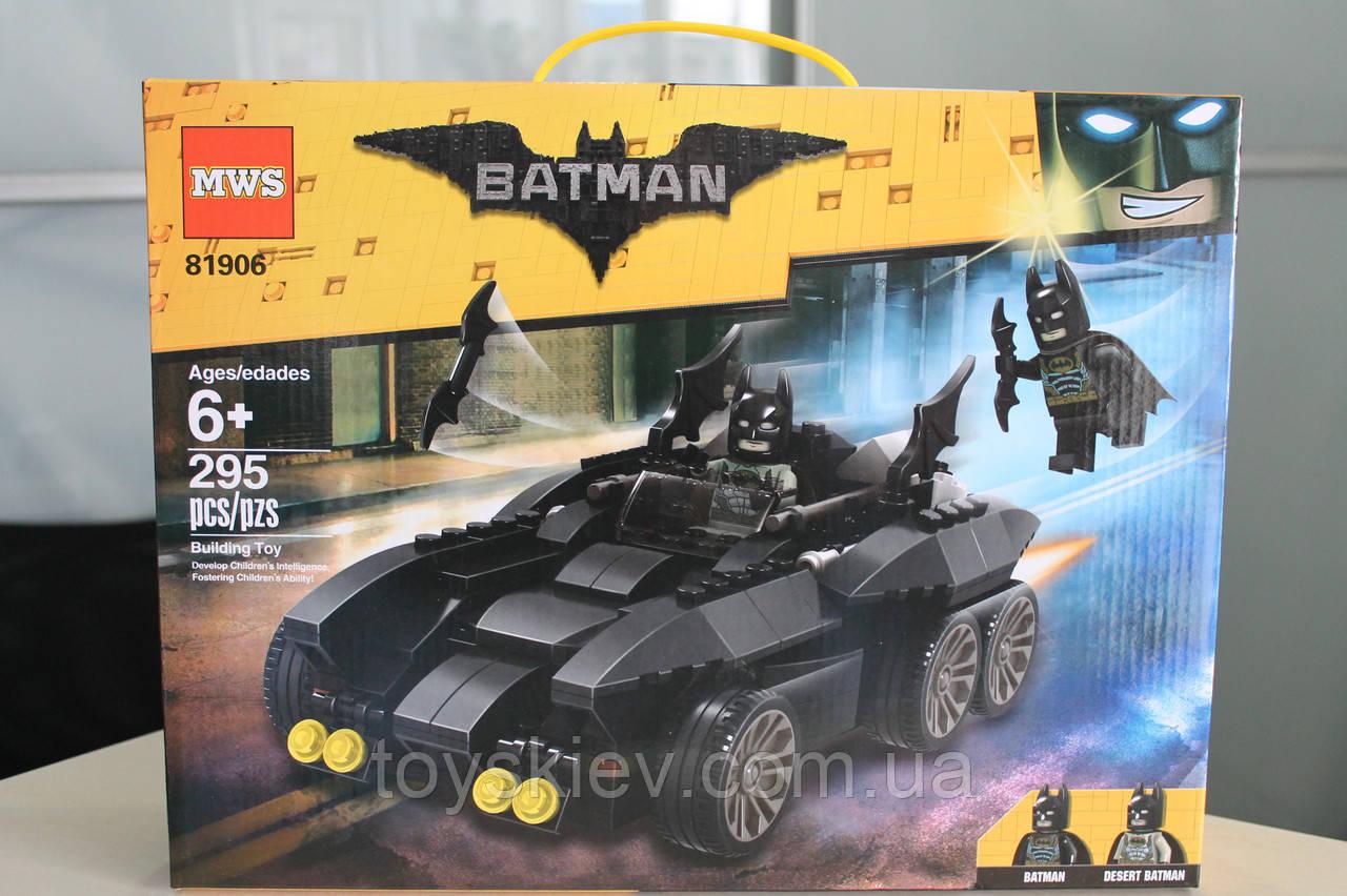 "Конструктор бэтмен аналог lego batman 81906 The Batman Movie ""Бэтмобиль"""