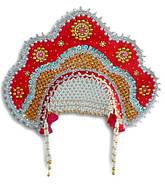 Карнавальные головные уборы, короны, кокошники, шапки деда мороза, банданы