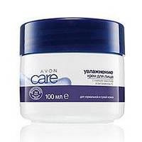 Увлажняющий крем для лица Avon Care с соевым маслом и витамином Е, Эйвон, 96335, 100 мл