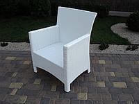 Кресло плетенное из искусственного ротанга  №11