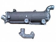 Заміна теплообмінника пластинчастого типу на трубчатий (двигуни ЯМЗ V6 та V8 на МАЗ).