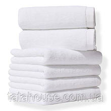 Полотенце Lotus Отель - Белое 30*30 (20/2) 450гр