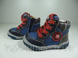 """Ботинки для мальчика """"Clibee"""" Польша Размер: 21,22,24"""