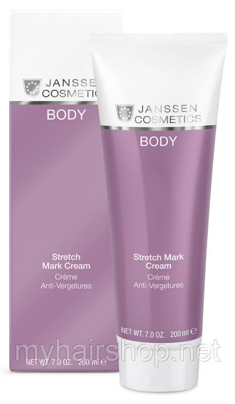 Крем против растяжек JANSSEN Anti-Stretch Cream 200 мл