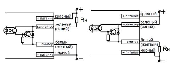 фотодатчик схема підключення