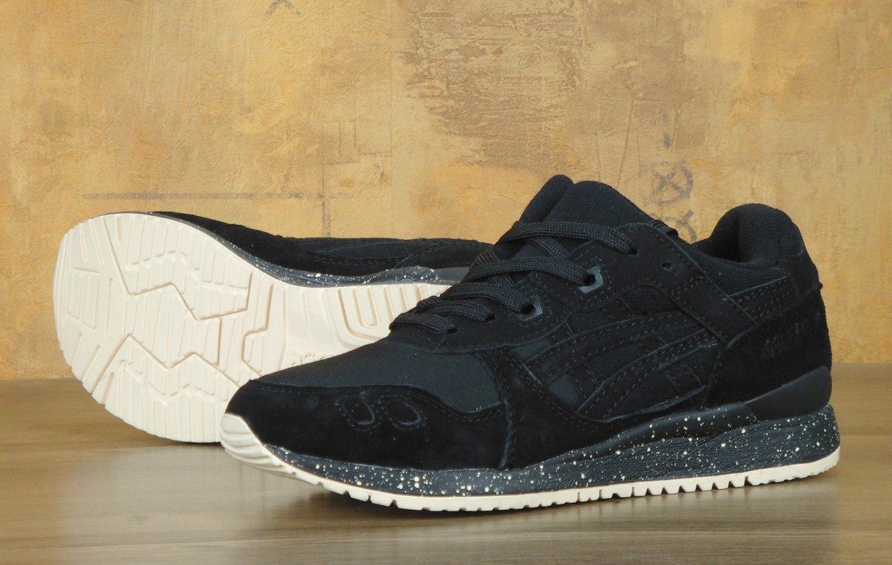 Мужские кроссовки Asics Gel Lyte черные, фото 1