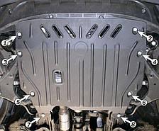 Защита двигателя Kia Sportage  (2005-2010) Полигон-Авто