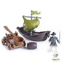 Маленький игровой набор «На абордаж!»: Лесаро с катапультой SM73102-2