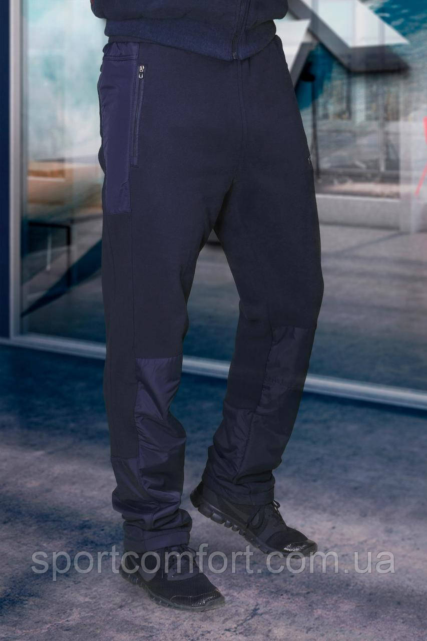 Мужские спортивные брюки темно-синее