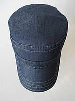 Джинсові чоловічі кепки на флісі., фото 1