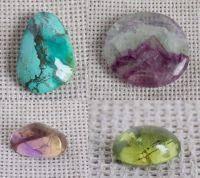 Камені, кристали, вироби з натурального каменю