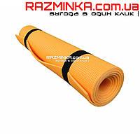Детский коврик для хореографии Колибри 5мм, оранжевый