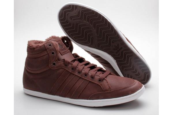 Зимние кроссовки adidas Plimcana Clean Mid Q34160 оригинал сток