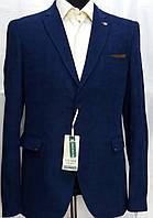 Мужской пиджак больших размеров цвета парламент Victor Enzo