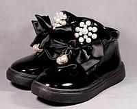 "С 19р по 24р ботинки демисезонные на девочку ""black style"""